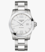 LONGINES CONQUEST CLASSIC Stainless Steel