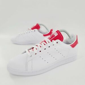 Adidas Originals Stan Smith Sneakers Snakeskin White Pink Mens Size 12 NEW