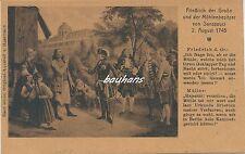 AK Friedrich der Große und der Mühlenbesitzer 1.WK (i583)