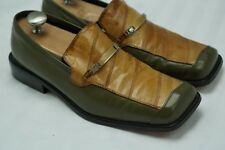Giorgio Brutini Private Collection Loafers Men's Shoes Size 10.5 M Eel Skin
