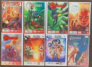 All-New Invaders #1,2,3,4,5,6,7,8 Marvel Comics James Robinson Captain America