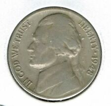 1948-D Denver Circulated Jefferson Nickel Five Cent Coin!