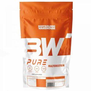 BBW Pure Maltodextrin - 1kg - Carbs Carbohydrates Energy Powder Weight Gainer