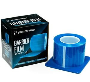 Blue Barrier Film, Plastic Sheets, Tape for Dental Tattoo Medical Adhesive Roll
