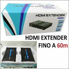 HDMI Extender Cavo di Rete LAN Fino 60m - 7426845300991