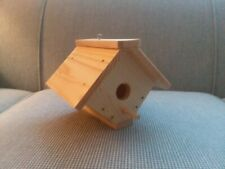 Weather Coated Handmade Wooden Birdhouse-with Hanging Hook-Free USPS-US ONLY