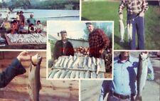 five views of fishing SHADY SHORE CAMPING, WHITE LAKE, SORRENTO, BC CANADA