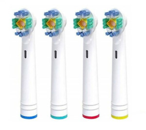 3D Whitening Replacement Electric Toothbrush Heads compatible with ORAL-B BRAUN