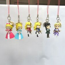 "Japanese anime ""Roses of Versailles"" Bellbara Kids Mascot Figures 6 types Rare"