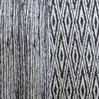 Fabric Freedom Textured Brocade Style Dressmaking Fabric - in black and ivory