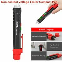AC/DC Non-Contact LCD Electric Voltage Test Pencil 12-1000V Detector Compact Pen