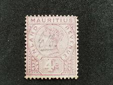 Mauricio 1896 Postal Fiscal SGR3 Pen cancelar Gato £ 70