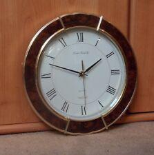 LONDON CLOCK COMPANY QUARTZ WALL CLOCK - HEIGHT 31cm x WIDTH 30.3cm