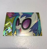My Little Pony #F41 DJ Pon-3 Series 2 Foil Card 2013 Rare Gold Promo Brony