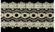 Sullivans Crafty Saver Lemon Eyelet (Coathanger) Lace (x5 metres)
