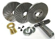Steel Dividing Plates Set for HV4 /HV6 Rotary Table with Working Manual-Milling