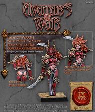 Warhammer Avatars of War Lady of Wrath Chaos Nuevo metal New