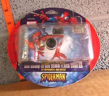 SPIDERMAN disposable flash camera Target exclusive NWT super hero expired 35 mm