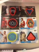 TOPPS STAR WARS RISE OF THE SKYWALKER PICK YOUR PATCH CARDS MINT