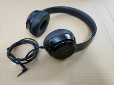 Gloss Black Beats Solo3 Wireless On-Ear Headphones STORE DEMO - Only WIRED works