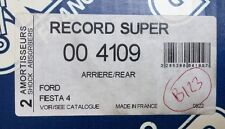 NEUF 2 AMORTISSEURS SUPER RECORD ARRIERE REF 004109 @ FORD FIESTA 4 @ N123