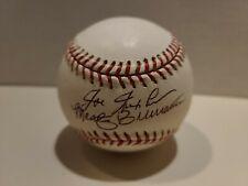 Joe Nuxhall Marty Brennaman Signed Autographed Baseball Cincinnati Reds