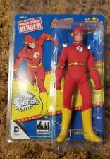 THE FLASH WORLD'S GREATEST HEROES SUPER POWERS 8 INCH Retro MEGO FIGURE Repro