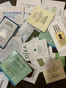 Lot of 12 Beauty Samplers (Face/Eye/Neck/Lip/Body/Hair/Nail) All Kinds Of Brands