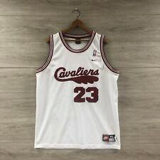 LeBron James Cleveland Cavaliers 1972 Retro Rewind NBA Nike Jersey Size XL
