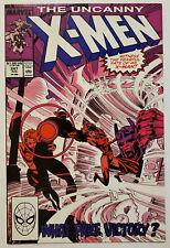 The Uncanny X-Men #247 (1989, Marvel) VF/NM vs Master Mold! Marc Silvestri