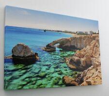 Meer Felsen Riff Wasser Stein Leinwand Bild Wandbild Kunstdruck L0463