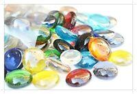 1kg (app 230) Glass Pebbles 20mm Home Garden Wedding Memorials Aquariums