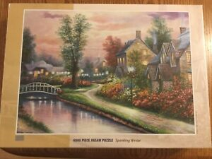 "NEW Factory Sealed TOMAX 4000 piece ""Sparkling Winter"" Jigsaw Puzzle"
