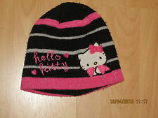 bonnet noir (taille 52) HELLO KITTY
