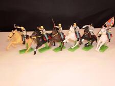 Vintage Britains Detail 6 American Civil War Union Cavalery Figures x-shop stock