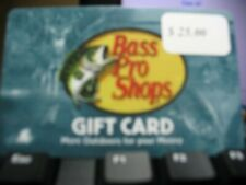 Bass Pro Shops® Physical Gift Card - $25