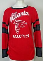 Atlanta Falcons Touch By Alyssa Milano Women's Curve Thermal T-Shirt NFL 2X