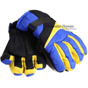Winter Thermal Gloves Warm Waterproof Sports Ski Snowboarding Outdoor Men Women