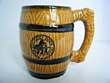 Old Kentucky Root Beer Barrel Mug Hand Painted Japan
