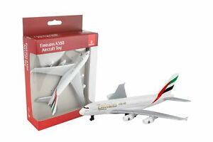 Daron Emirates A380 Single Die Cast Metal Collectible Plane