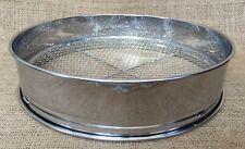 More details for 30cm bonsai stainless steel soil sieve set x 3 changable mesh sizes