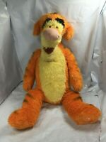 "Disney Store Core Tigger Plush 15"" Super Soft Winnie Pooh Tiger Stuffed FS EUC"