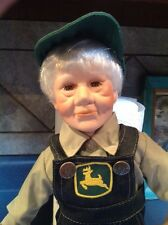 John Deere Grandpa Porcelain Doll