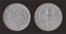 GERMANIA GERMANY 200 MARK 1923 A
