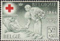 Belgien 504 gestempelt 1939 Belgisches Rotes Kreuz