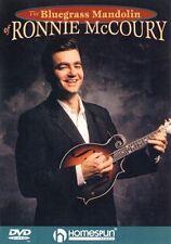 The Bluegrass Mandolin of Ronnie McCoury Dvd Instructional Folk Instrm 000641650