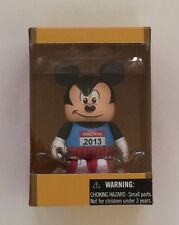 NIB Disney Vinylmation Figure - Run Disney 2013 Mickey Mouse Marathon 3""
