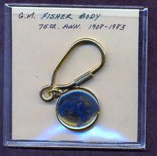Fisher Body Key chain - GM 75th Anniversary - 1908-1983