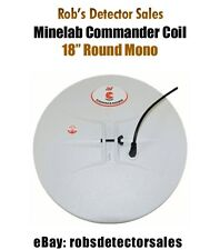 "Minelab Commander Search Coil - 18"" Round Mono for Minelab Metal Detectors"