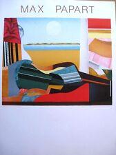 Max PAPART, Original Poster, Guitare, Great Image! No Text!